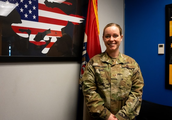 Krystaly Davis is the Top Missouri Air National Guard Recruiter