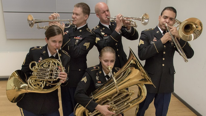 U.S. Army Europe Band and Chorus - Band Brass Quintet