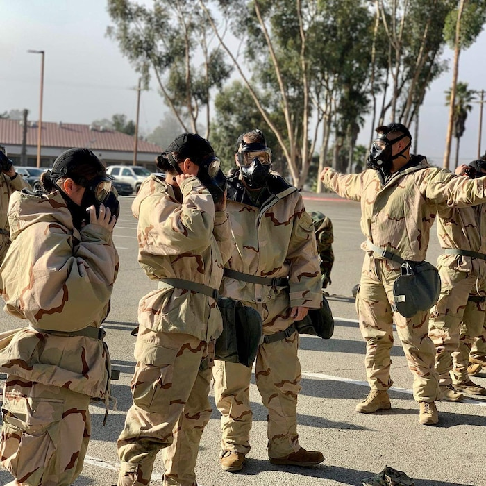 On 13 November 2019, the Commanders and Staff of 9th Communication Battalion conduct their annual Chemical, Biological, Radiological, and Nuclear (CBRN) staff training in preparation for future exercises in any climate and location.