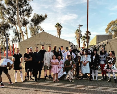 On 24 October 2019, The Marines of 9th Communication Battalion dressed up and decorated the tailgates of tactical and personally owned vehicles allowing Marines, Sailors, and their families to interact, trick-or-treat, and build camaraderie within the unit for Halloween.