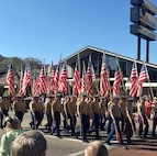 On 11 November 2019, the Marines of 9th Communication Battalion Volunteer to March at the Annual Fallbrook Veterans day Parade.