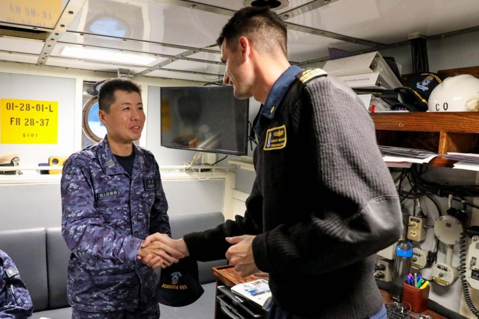 Japanese Maritime Self-Defense Force, Australian, US Navies Flex Mine Warfare Capabilities