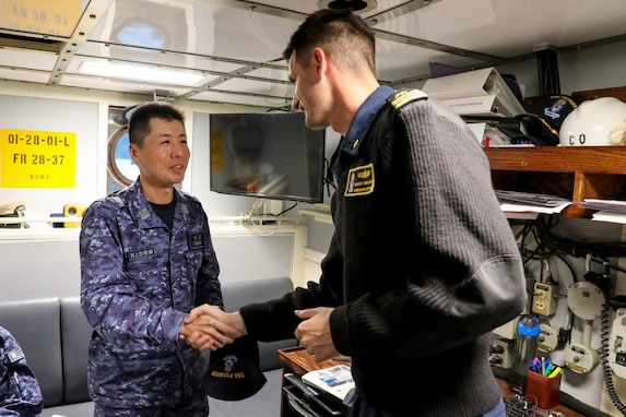 Japanese Maritime Self-Defense Force, Australian, US Navies Flex Mine Warfare Capabilities