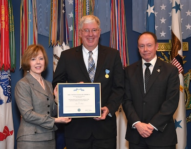 15th Annual David O. Cooke Public Administration Award and the 64th DoD Distinguished Civilian Service Award ceremony at the Pentagon Hall of Heroes