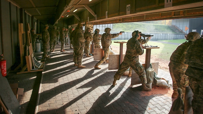 7th Mission Support Command weapons training and range operations