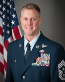 Photo portrait of Chief Master Sgt. Todd A. Hunt  Command Chief Master Sergeant for the 179th Airlift Wing.