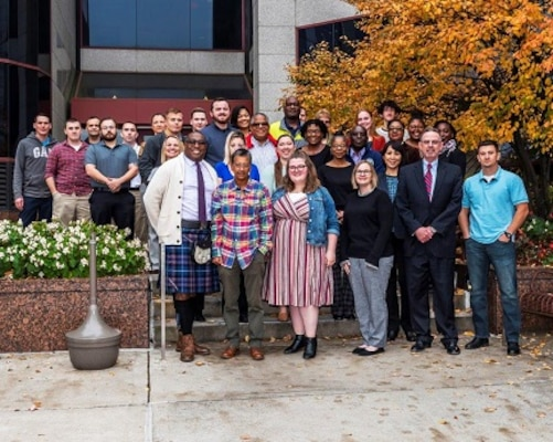 Group photo of 32 new employees and Mr. Griff Warren, whom attended the 2019 October New Employee Orientation