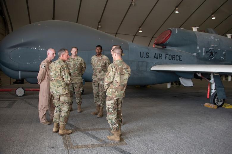 The CSAF visited ADAB Nov. 17, 2019.