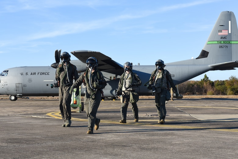 Aircrew walks away from a C-130J