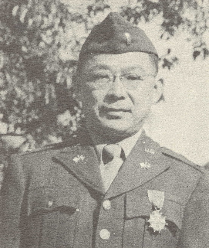 Photo of U.S. Army Major Major Clarence Yamagata, pictured here while he was a lieutenant.