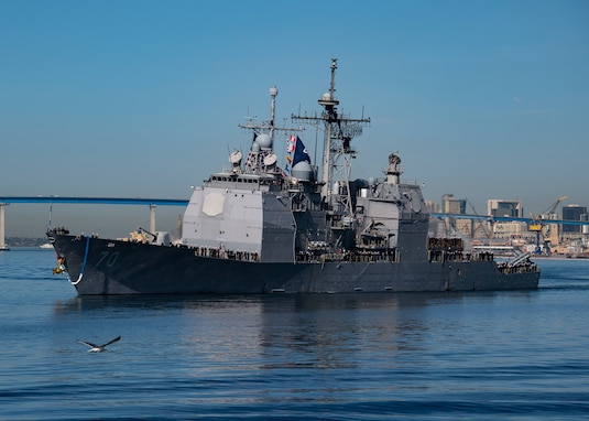 USS Lake Erie Returns Home from Indo-Pacific Deployment