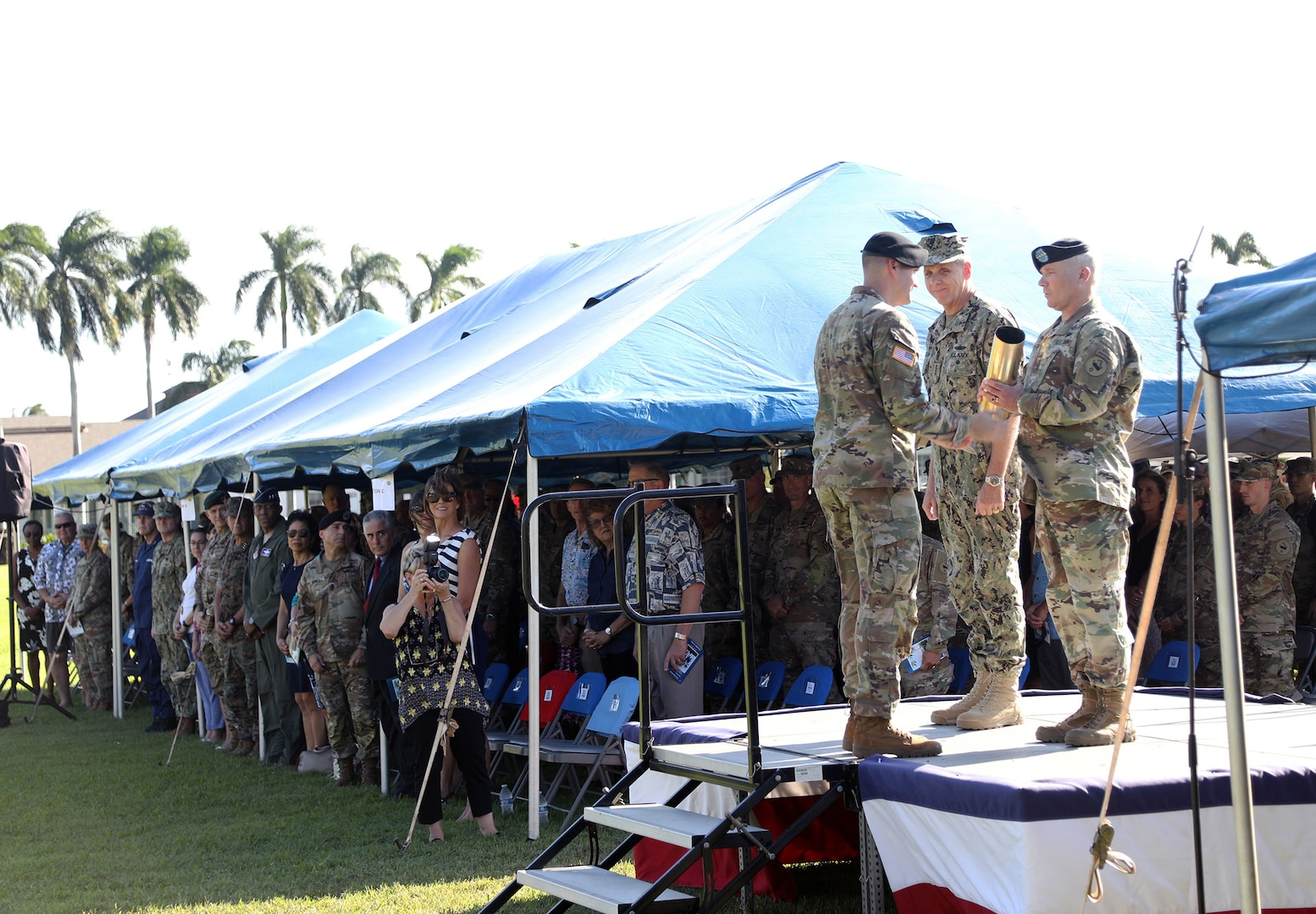GEN. Paul J. LaCamera Assumes Command of U.S. Army Pacific