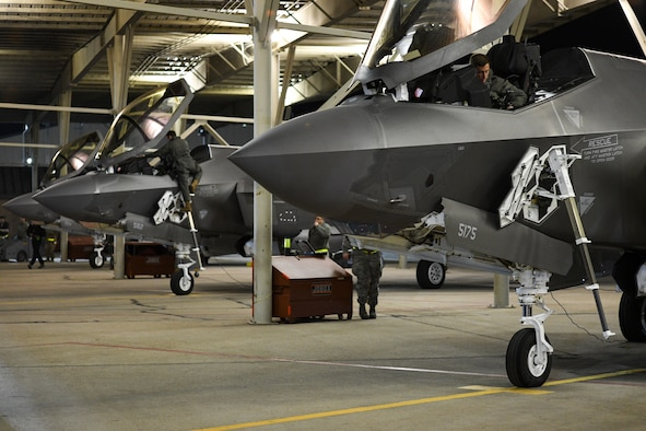 Photo of an F-35A
