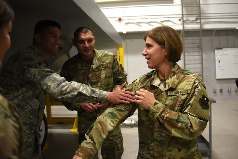 2nd Air Force commander visits Sheppard Airmen