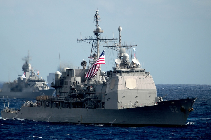 U.S., Allied Forces Conduct Exercise Pacific Vanguard