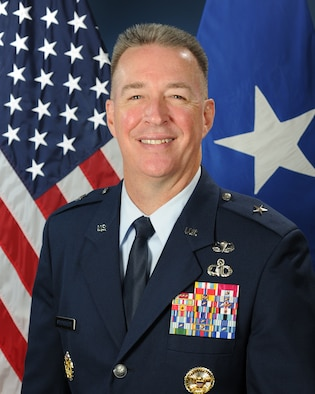 Brig. Gen. Brian Bruckbauer, director of the Air Force Security Assistance and Cooperation Directorate and Air Force Materiel Command's International Affairs Directorate.