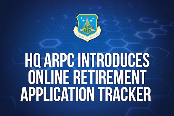 The retirement application tracker found in vPC allows retirees to view their retirement pay application as it is processed from HQ ARPC to DFAS. To view the tracker, applicants must navigate to the Action Requests tab and select the Retirement Application Status link. In addition to step by step updates, the tracker provides a DFAS tracking number to inquire about retirement pay issues after the application passes from HQ ARPC to DFAS.