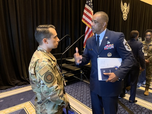 Chief Master Sgt. Timothy White has a challenge for Reserve Citizen Airmen for the new year: Don't let the past or present define your future. Live every day as if it was your last.