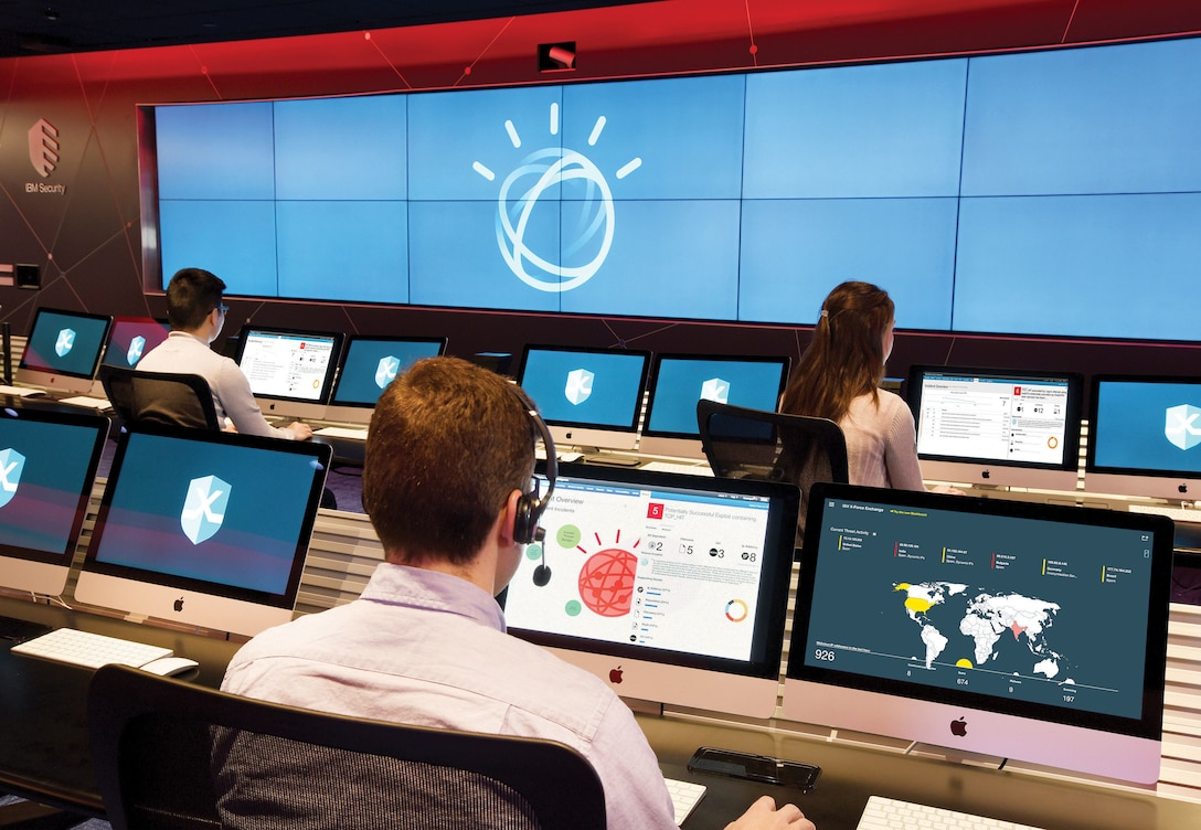 IBM's Watson for Cyber Security uses cognitive capabilities to improve cyber security investigations (IBM/John Mottern)