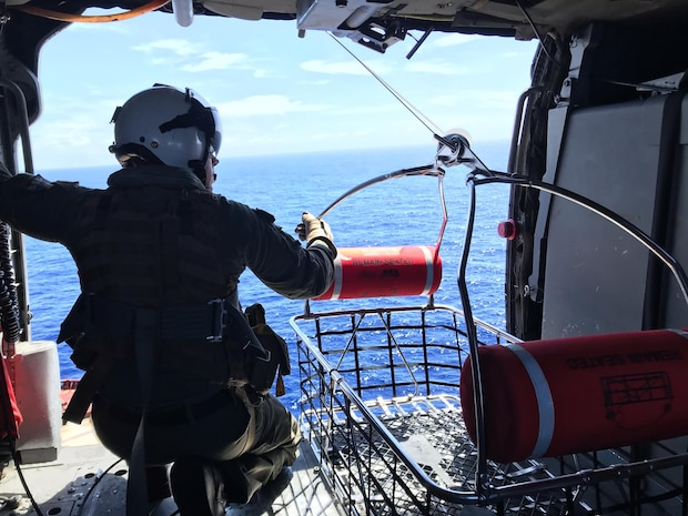 HSC-25 Conducts MEDEVAC of Chinese Citizen at Sea