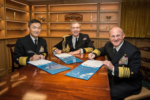 U.S., U.K., Japan Navies Reaffirm Commitment to Increased Cooperation