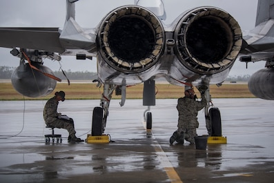 142nd FW Guardsmen participate in Checkered Flag 2019