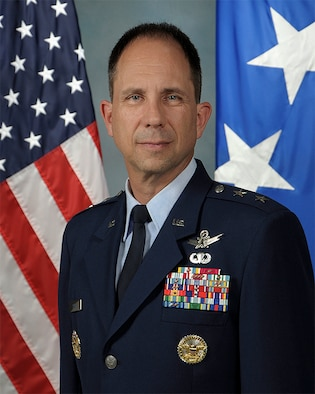 Maj. Gen. Shaw official photo