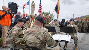 D-Day 75 Performance, Normandy region, France