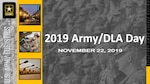 2019 Army/DLA Day, November 22, 2019 banner/graphic.