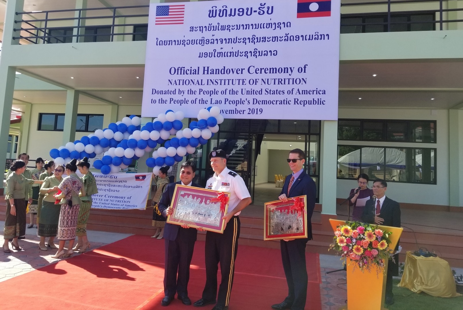 U.S. Army Corps of Engineers Partners to Battle Malnutrition in Laos