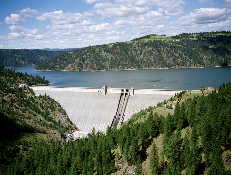 By 2018, the Corps' operation of Dworshak Dam in Idaho had prevented more than $4.4 million in potential local flood damages. From October 2014 through September 2018, the dam prevented approximately $216 million in potential flood damages on the Columbia River.