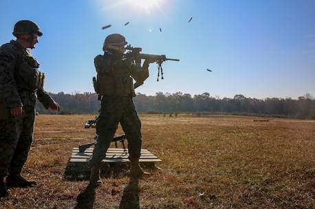 The Marines conducted multiple training evolutions to become familiar with various weapon systems as well as pushed themselves to their limits to prepare for future operating forces of the Marine Corps.