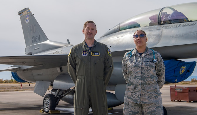 Fighter squadron medical specialists ensure health of aircrew