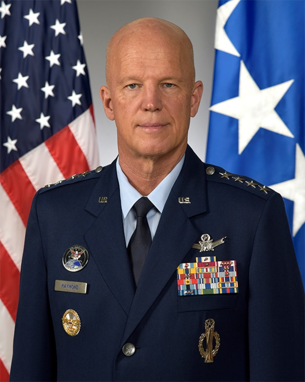 "General John W. ""Jay"" Raymond Biography Photo"