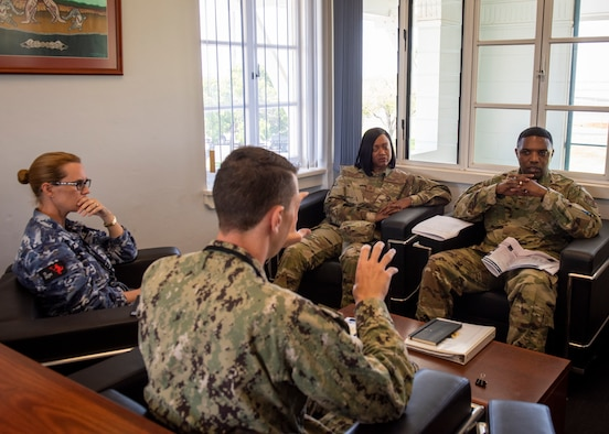 374th AW/CC talks bilateral future with RAAF partners