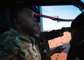 374th AW/CC talks bilateral future with RAAF partners