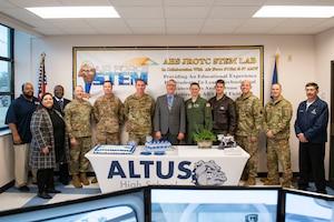 Junior ROTC receives flight simulators.