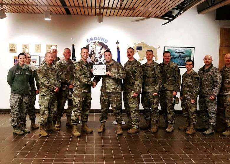 SSgt Robert Payne  was selected at the Chief's Choice Award winner of the month of November 2019.