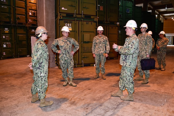 NAVFAC visits NMCB-5 Seabees during INDOPACOM deployment