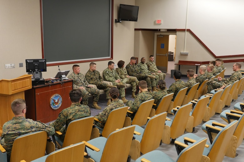 Photo of instructors at the Defense Nuclear Weapons School