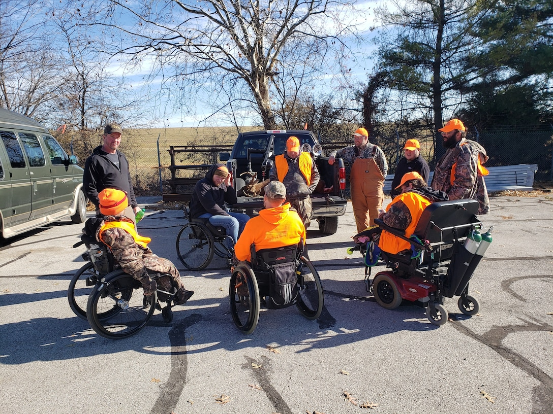 For the 30th year, the U.S. Army Corps of Engineers at Smithville Lake hosted what's known as the world's largest managed deer hunt for mobility-impaired hunters. During this two-day event, 60 hunting blinds are set up across 3,800 acres of prime ground, not available for public hunting.