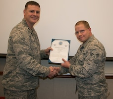 Moore Promoted to Staff Sergeant