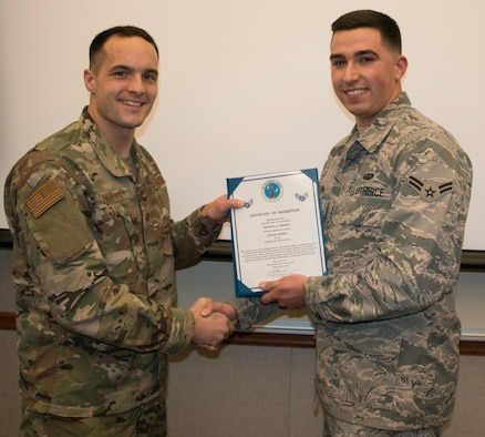 Brown Promoted to Senior Airman