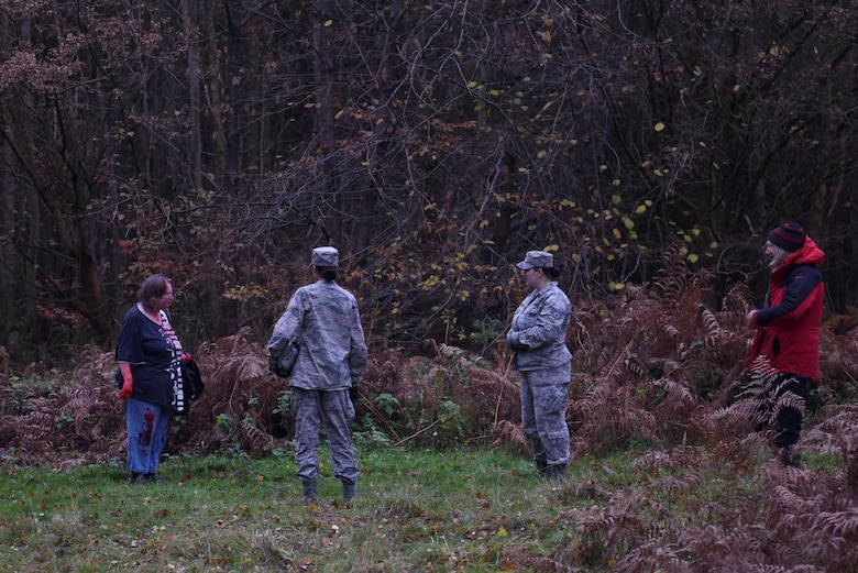 Liberty Wing Airmen participated in a joint medical exercise hosted by Suffolk Lowland Search and Rescue in Thetford, England, Nov. 23, 2019. U.S. Air Force Medical Airmen participating in the exercise had the opportunity to enhance medical readiness through an interactive scenario. (U.S. Air Force photo by Airman 1st Class Rhonda Smith)