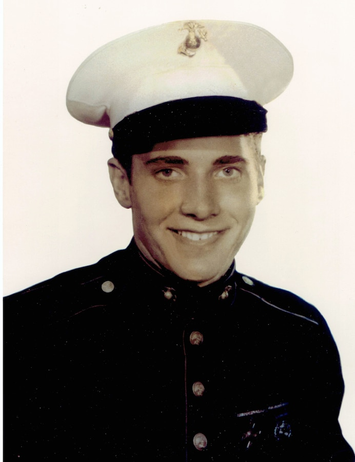 """Detroit native, born in 1923, Cpl. Leonard B. Turner enlisted in the Marine Corps in 1942 following the example of two of his brothers who had already signed up for World War II military duty ahead of him.  Turner, a 96-year-old War World II veteran and Marine Raider, affectionately nicknamed """"Raider 96,"""" served with 2nd Marine Raider Battalion and was the oldest Marine in attendance at Marine Forces Special Operations Command's 244th Marine Corps Birthday Ball in Wilmington, N.C., Nov. 2, 2019.  Turner served under Lt. Col. Evan F. Carlson on New Caledonia; was sent to Guadalcanal, Efate, and Espiritu Santo; and was a part of the first waves during the battles of Bougainville, Guam and Okinawa.  After the surrender of Japan, Turner served as a Military Policeman on the Island of Ryukyu, Japan until returning to the United States.  After completing his military service, Turner returned to his hometown of Detroit and served in a supervisory capacity at General Motors Headquarters, retiring after 42 years."""