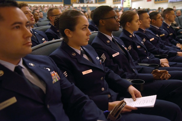 An image of CCAF graduates from their ceremony Nov. 7