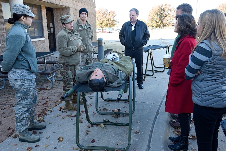 An image from the Honorary Commanders Partnership Day Nov. 13
