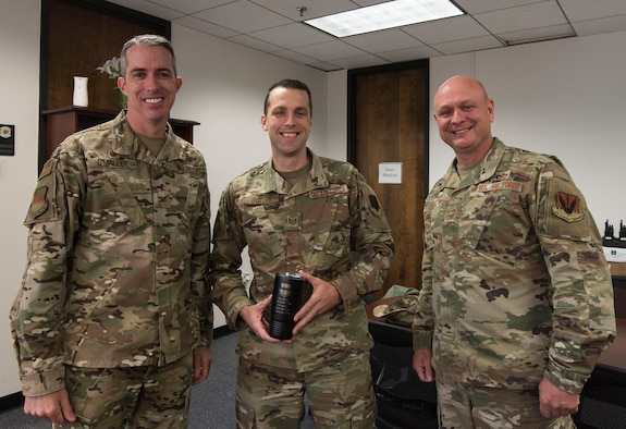 Tech. Sgt. Ryan Butler, 20th Fighter Wing Equal Opportunity noncommissioned officer in charge of equal opportunity, was recognized as this week's Weasel of the Week (WOW) at Shaw Air Force Base, South Carolina, Nov. 14, 2019.