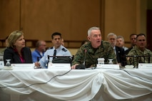 2019 Western Regional Partnership Principals' meeting held on Camp Pendleton
