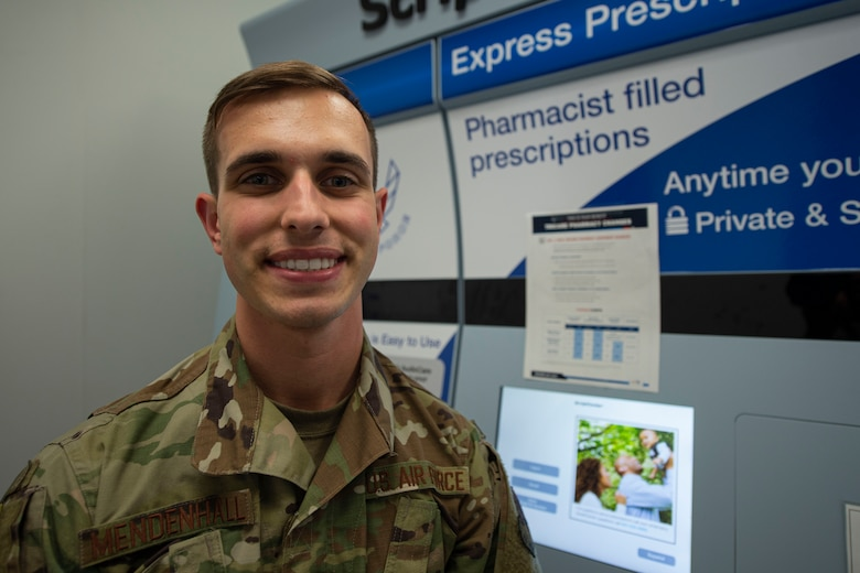 A photo of an Airman, with the 23d Medical Support Squadron, smiling for a photo.